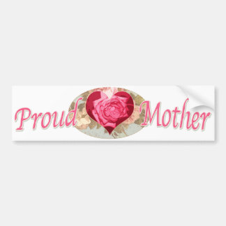 Ideas del regalo del día de madre para la mamá más pegatina de parachoque
