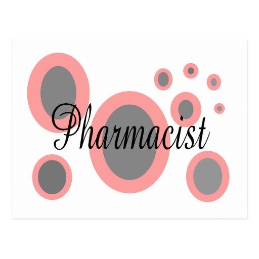 Ideas del regalo del farmacéutico--Diseños únicos Tarjetas Postales
