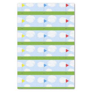 ideas del regalo del golf papel de seda pequeño