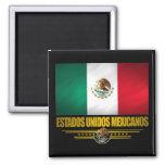 """Ideas del regalo del """"orgullo mexicano"""" imán cuadrado"""