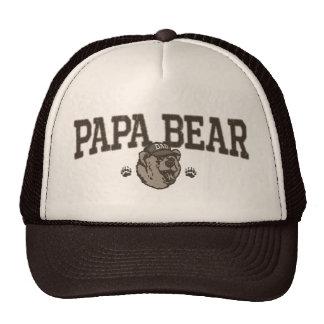 Ideas del regalo del oso de la papá para el papá gorra