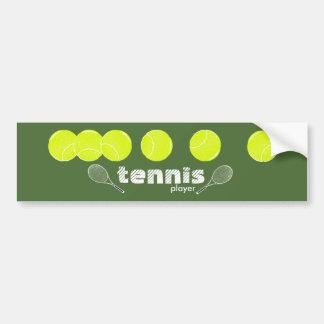 ideas for a tennis player car bumper sticker