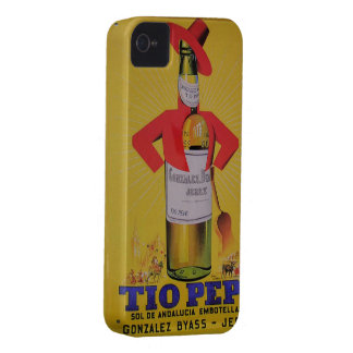 Ideas gift Vintage Announcement Fine Wine Sherry iPhone 4 Cover