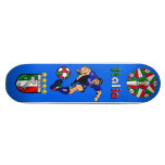 Ideas italianas del regalo del fútbol del fútbol d patineta personalizada