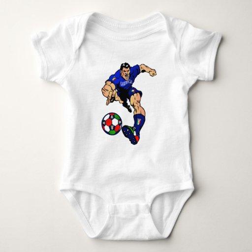 Ideas italianas del regalo del fútbol del fútbol camiseta