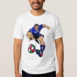 Ideas italianas del regalo del fútbol del fútbol remera