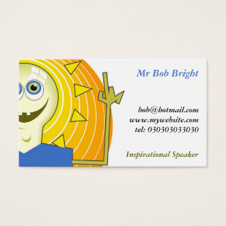 Ideas Man, Mr Bob Bright Business Card