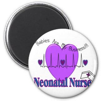 Ideas neonatales del regalo de la enfermera--Diseñ Imán Redondo 5 Cm