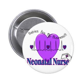 Ideas neonatales del regalo de la enfermera--Diseñ Pin Redondo 5 Cm