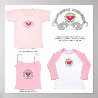 Ideas para la galería roja del amor póster