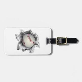 ideas personalizadas del regalo del béisbol etiqueta para equipaje