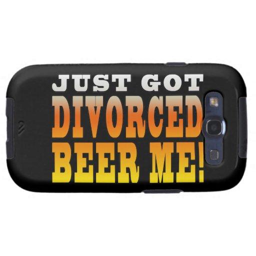 Ideas positivas del regalo del divorcio: Cerveza d Samsung Galaxy SIII Funda