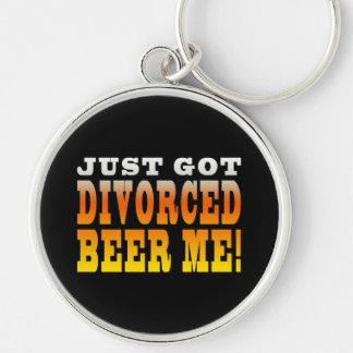Ideas positivas del regalo del divorcio: Cerveza d Llavero