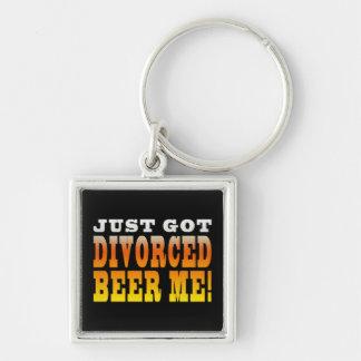 Ideas positivas del regalo del divorcio: Cerveza d Llaveros