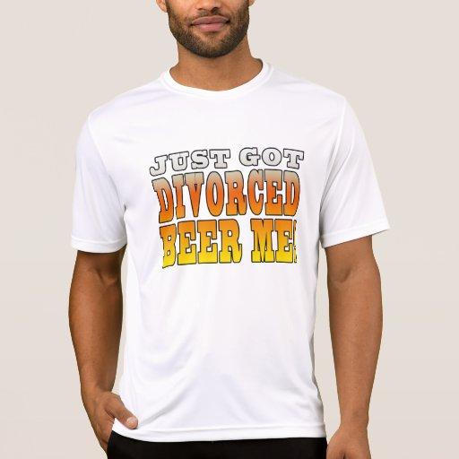 Ideas positivas del regalo del divorcio: Cerveza d Camisetas