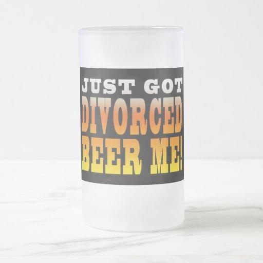 Ideas positivas del regalo del divorcio: Cerveza d Taza