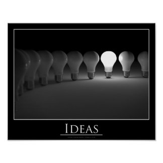 Ideas - poster póster
