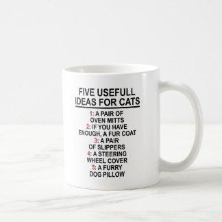 Ideas útiles del gato taza clásica