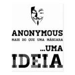 IDEIA Anonymous Cartões Postais