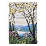 Idellic Landscape Tiffany Stained Glass iPad Mini Cases