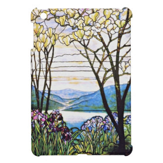 Idellic Landscape Tiffany Stained Glass Cover For The iPad Mini