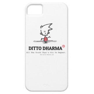 Ídem caja del teléfono de Dharma iPhone 5 Case-Mate Funda