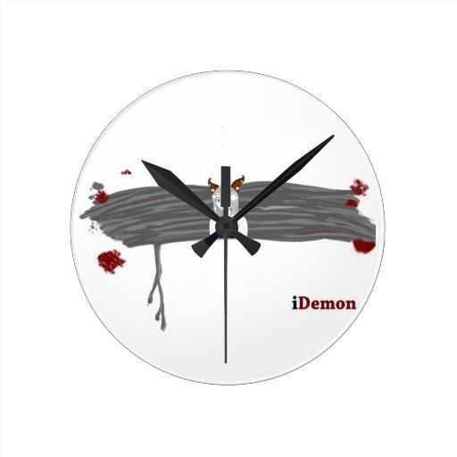 iDemon Round Wall Clocks