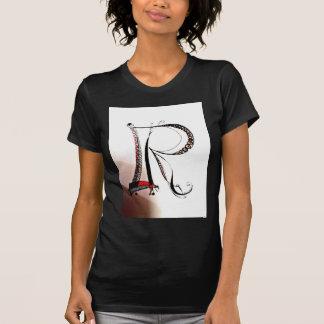 idems indicados con letras personales camisetas