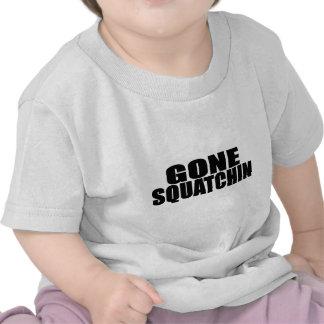 IDENTICAL to BOBO's *ORIGINAL* GONE SQUATCHIN Tshirts