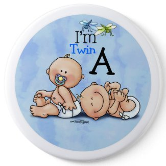 Identical Twin Boys button