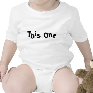"""Identical Twin """"This One"""" Tee Shirts"""