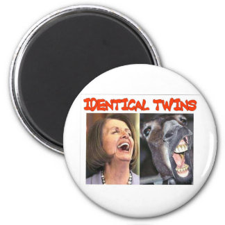 IDENTICAL TWINS REFRIGERATOR MAGNETS
