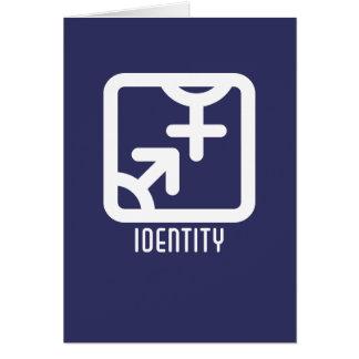 Identidad: Ambo tarjeta oscura