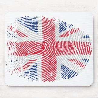 Identidad británica alfombrillas de ratón
