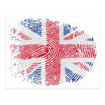 Identidad británica postal