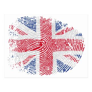 Identidad británica postales