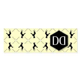 Identidad de la DD de great dane Tarjetas De Visita Mini