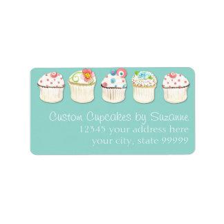 Identidad del negocio de la panadería de la hornad etiqueta de dirección