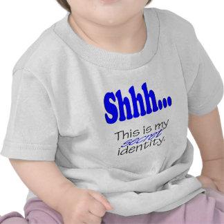 Identidad secreta camiseta