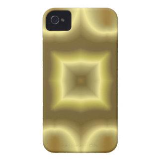 Identificación abstracta amarilla de la casamata d Case-Mate iPhone 4 carcasa