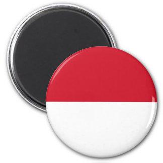 Identificación de Indonesia, Jakarta, bandera Imán Para Frigorifico