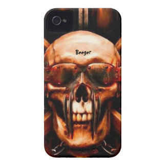 Identificación de Iphone 4 - Metalhead mega Funda Para iPhone 4