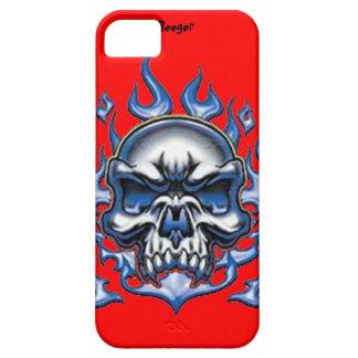 Identificación de Iphone 5 - cráneo cristalino con iPhone 5 Funda