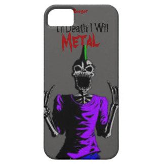 Identificación de Iphone 5 - hasta muerte Metal iPhone 5 Funda