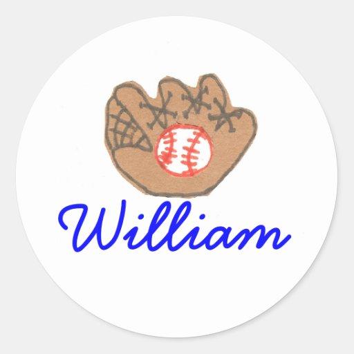 Identificación del béisbol del Kat del Etiqueta Redonda