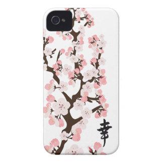 Identificación del iPhone 4/4S de la flor de cerez Case-Mate iPhone 4 Funda