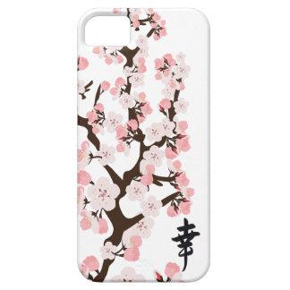 Identificación del iPhone 5 de la flor de cerezo y iPhone 5 Funda