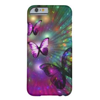 identificación del iPhone 6: Mariposas para Funda Barely There iPhone 6