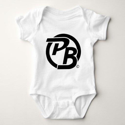 Identificación del logotipo de Pecky Boyz (negro) Tee Shirts