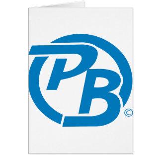 Identificación del logotipo de Pecky Boyz Tarjeta De Felicitación